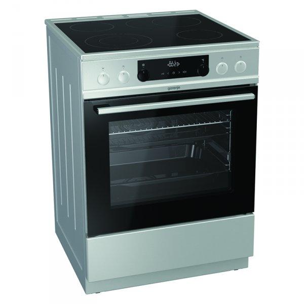 Готварска печка (ток) Gorenje EC6352XPA , INOX , Керамични