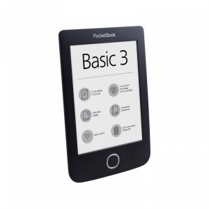 "Електронна книга PocketBook 614-2 BASIC 3 BLACK 6"" , 6.00000 , 8"