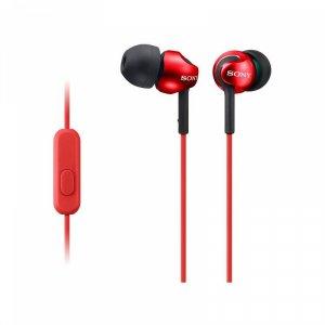 Слушалки с микрофон Sony MDR EX110APR