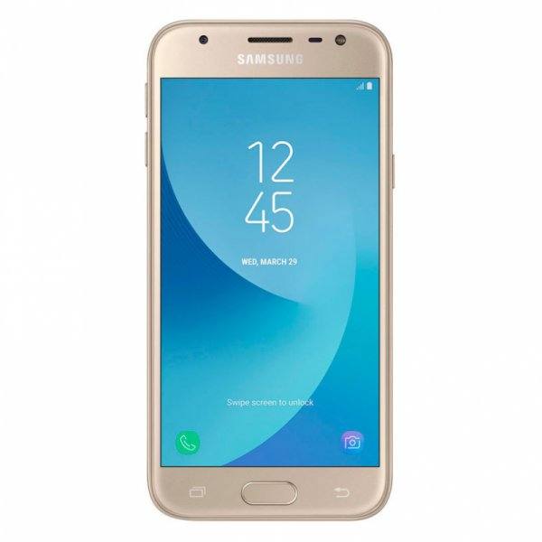 Мобилен телефон Samsung SM-J330F GALAXY J3 2017 SINGLE SIM GOLD