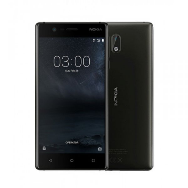 Мобилен телефон Nokia 3 DUAL SIM BLACK