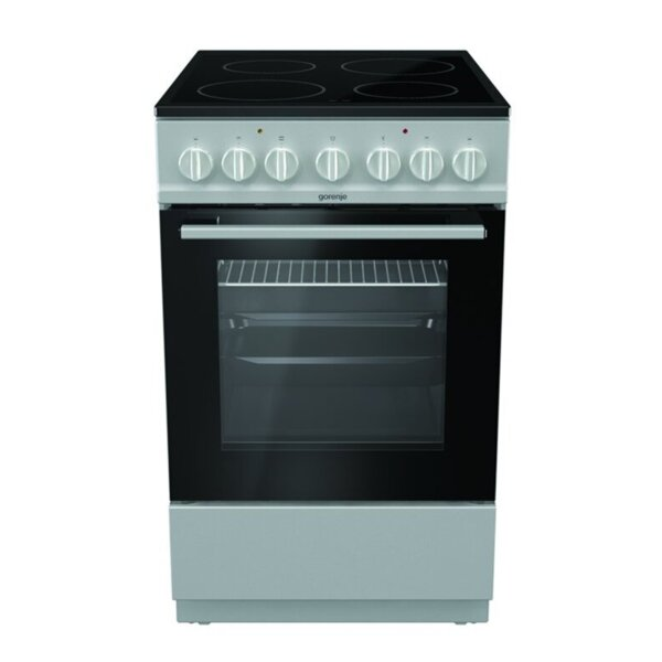 Готварска печка (ток) Gorenje EC5241SG , INOX , Керамични