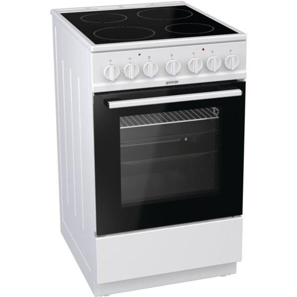 Готварска печка (ток) Gorenje EC5241WG , Бял , Керамични