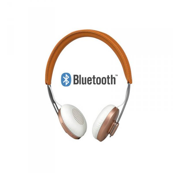 Слушалки с микрофон Microlab T3 BLUETOOTH BROWN
