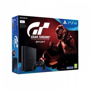 Конзола Sony PS4 1TB SLIM + GRAN TURISMO SPORT