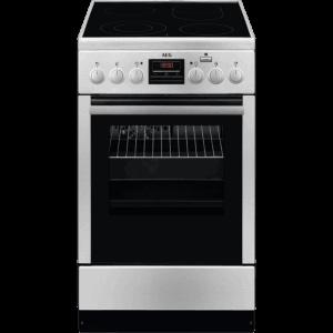 Готварска печка (ток) AEG CCB56400BX , 58 , 850/500/600 ш/в/д mm, Керамични