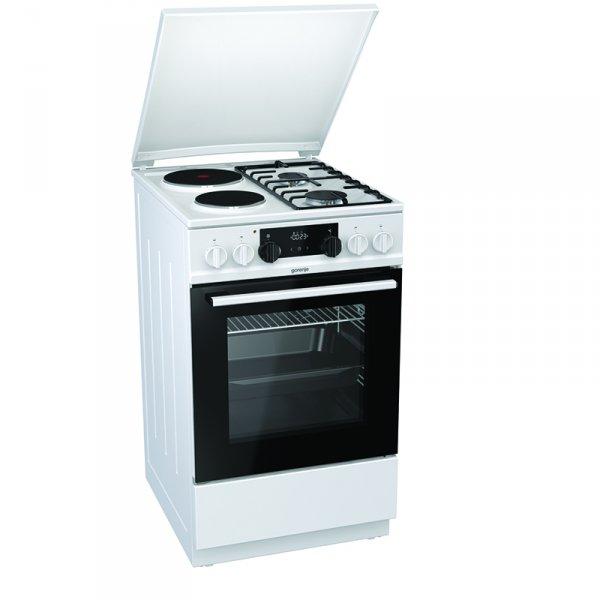 Готварска печка (ток/газ) Gorenje K5351WF