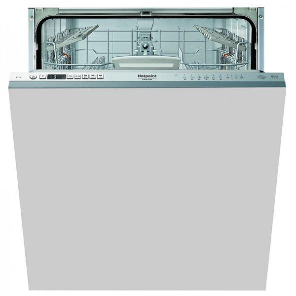 Вградена миялна машина Hotpoint-Ariston HIO 3T132 W O , 14 , 9 бр, A+++/A/A измиване/сушене