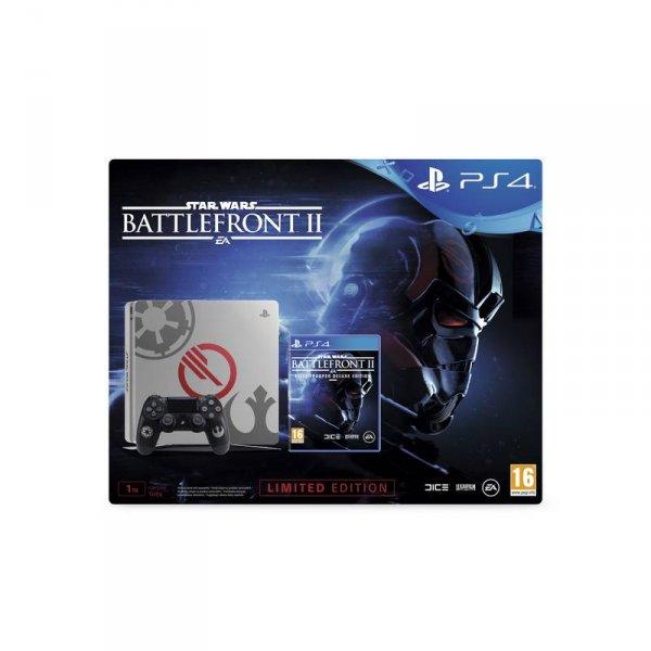 Конзола Sony PS4 1TB SLIM + STAR WARS BATTLEFRONT II