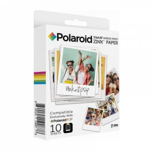 Аксесоар фото Polaroid ZINK 3X4 MEDIA POLZL3X410 - 10 PACK