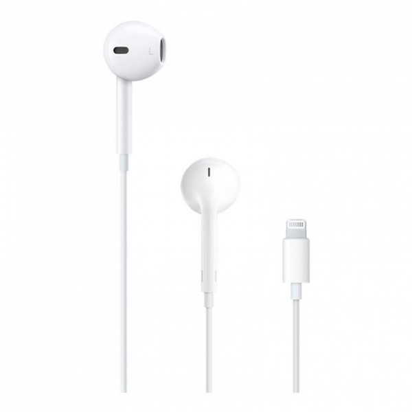 Слушалки с микрофон Apple EARPODS WITH LIGHTNING CONNECTOR MMTN2
