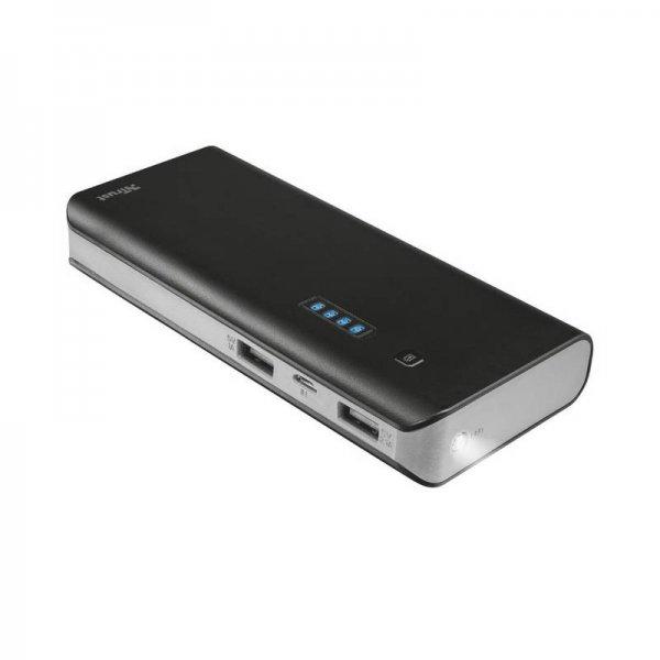 Външна батерия Trust PRIMO 10000 mAh BLACK