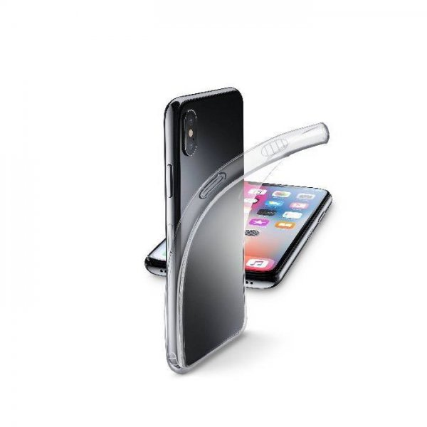 Калъф Cellularline FINE iPhone X /Xs ПРОЗРАЧЕН