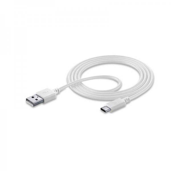 Кабел Cellularline USB-USB TYPE-C 1.2M