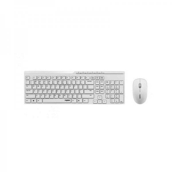 Клавиатура Rapoo X8100 16426 + МИШКА БЕЗЖИЧНИ БЕЛИ