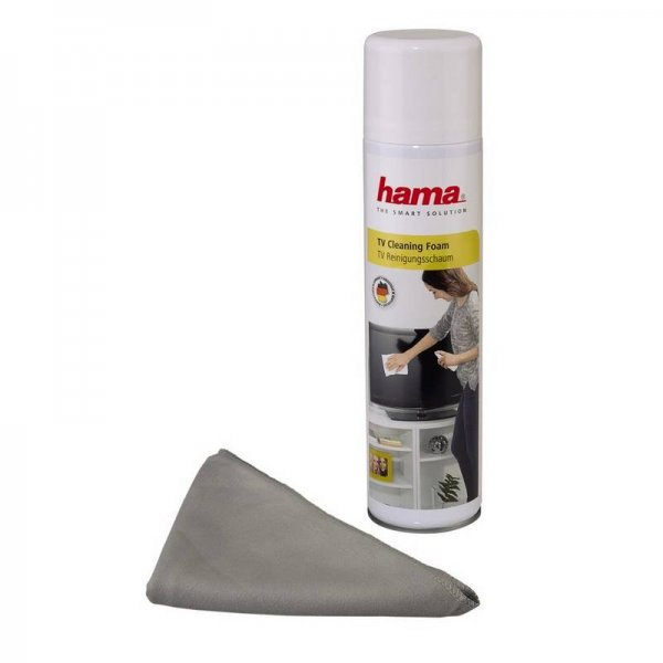 Почистващ комплект Hama 95853 ЗА ДИСПЛЕИ + КЪРПА
