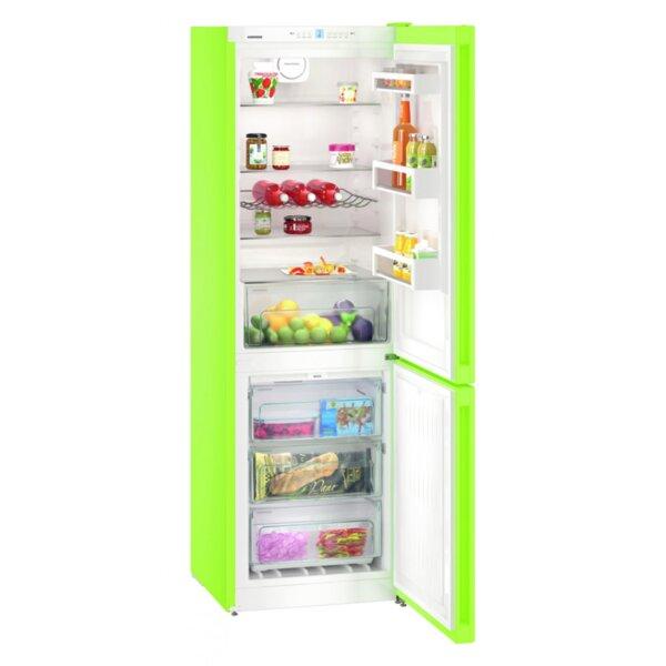 Хладилник с фризер Liebherr CNКW 4313 , 304 l, E , No Frost , Зелен