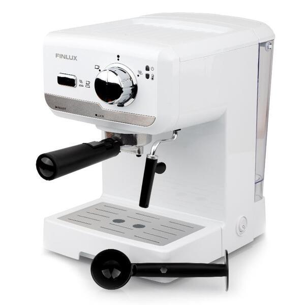 Кафемашина Finlux FEM-1694WH , 1150 W, 15 Bar, Еспресо