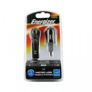 Зарядно устройство ENERGIZER 3 В 1 MICRO USB