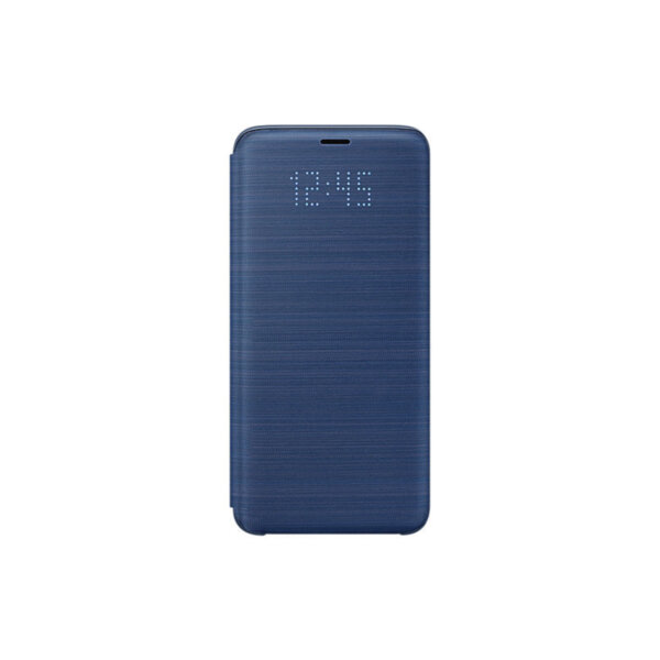 Калъф Samsung EF-NG960PL BLUE LED VIEW COVER FOR S9