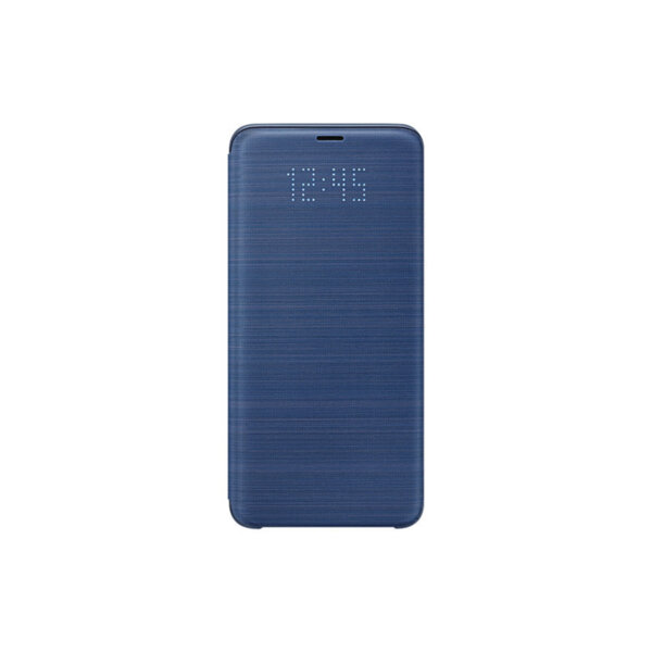 Калъф Samsung EF-NG965PL BLUE LED VIEW COVER FOR S9+
