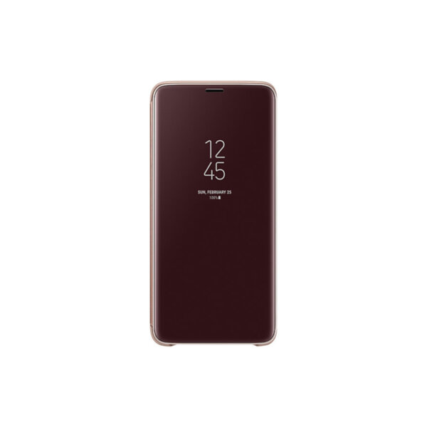 Калъф Samsung EF-ZG965CF GOLD CLEAR VIEW COVER FOR S9+
