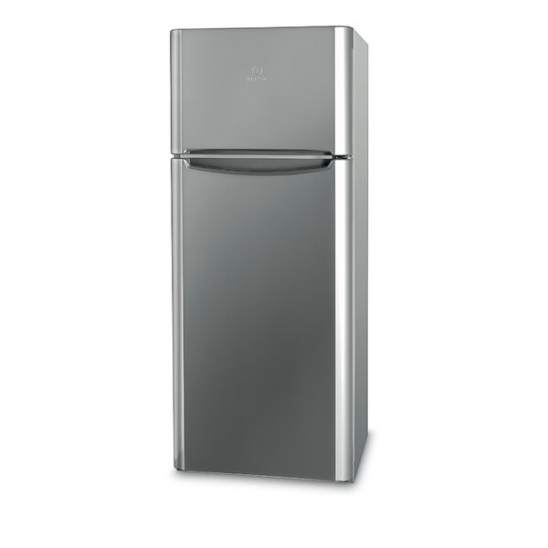 Хладилник с горна камера Indesit TIAA 10X *** , 252 l, A+ , Сив , Статична