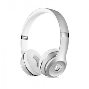 Слушалки с микрофон Beats SOLO3 WIRELESS ON-EAR - SILVER MNEQ2