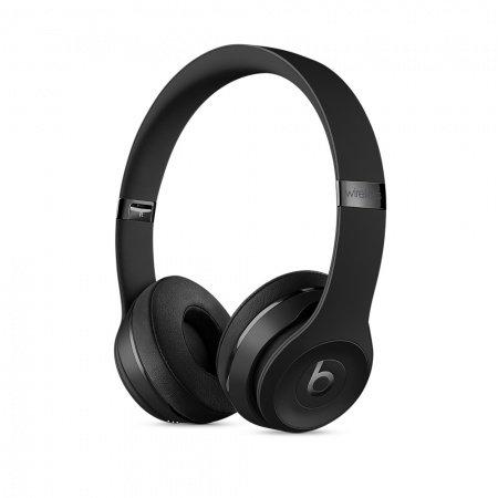 Слушалки с микрофон Beats SOLO3 WIRELESS ON-EAR - MATTE BLACK