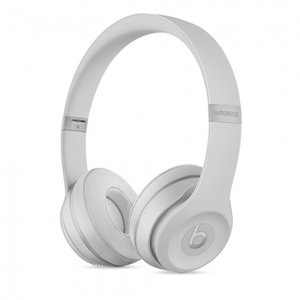 Слушалки с микрофон Beats SOLO3 WIRELESS ON-EAR - MATTE SILVER MR3T2