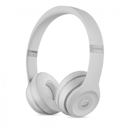Слушалки с микрофон Beats SOLO3 WIRELESS ON-EAR - MATTE SILVER
