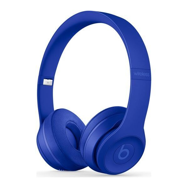 Слушалки с микрофон Beats SOLO3 WIRELESS ON-EAR - BREAK BLUE MQ392
