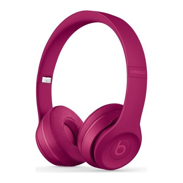 Слушалки с микрофон Beats SOLO3 WIRELESS ON-EAR - BRICK RED MPXK2
