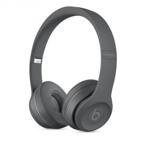 Слушалки с микрофон Beats SOLO3 WIRELESS ON-EAR - ASPHALT GRAY MPXH2