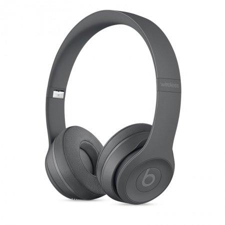 Слушалки с микрофон Beats SOLO3 WIRELESS ON-EAR - ASPHALT GRAY MPXH2