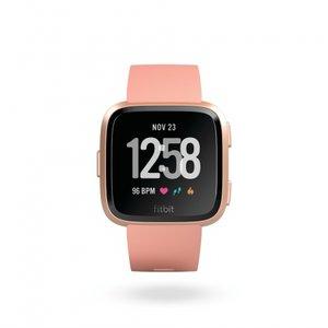 Смарт часовник Fitbit VERSA PEACH/ROSE GOLD FB505RGPK