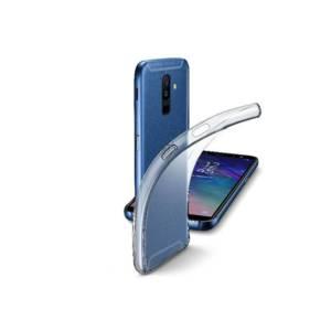 Калъф за смартфон Cellularline FINE SAMSUNG GALAXY A6+ 2018 ПРОЗРАЧЕН