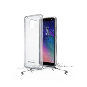 Калъф за смартфон Cellularline SAMSUNG GALAXY A6 2018 ПРОЗРАЧЕН ТВЪРД