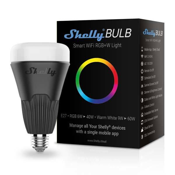 Смарт контакт Shelly Bulb - Wi-Fi Крушка RGBW