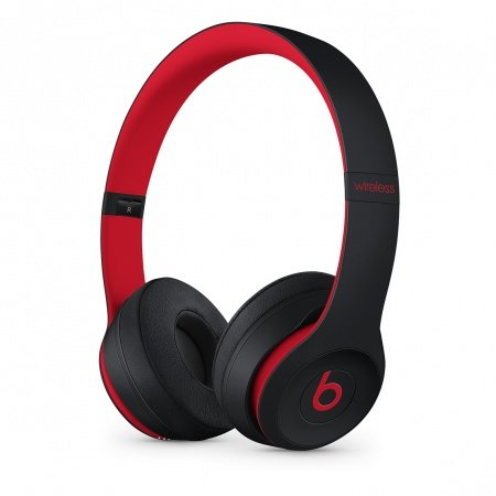 Слушалки с микрофон Beats SOLO3 WIRELESS ON-EAR - DEFIANT BLACK-RED MRQC2