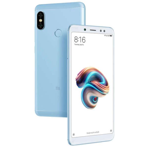 Мобилен телефон Xiaomi REDMI NOTE 5 DS BLUE 64/4 MZB6122EU