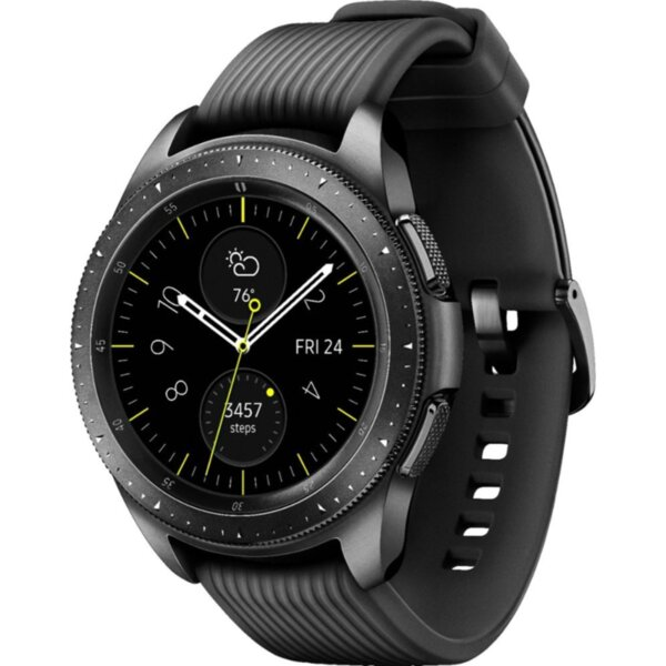 Смарт часовник Samsung GALAXY WATCH MIDNIGHT BLACK R810NZK 42 MM , 1.20 , 768MB , DUAL CORE 1.15GHz