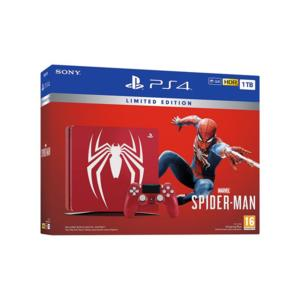 Конзола Sony PS4 1TB SLIM + SPIDER-MAN LIMITED EDITION