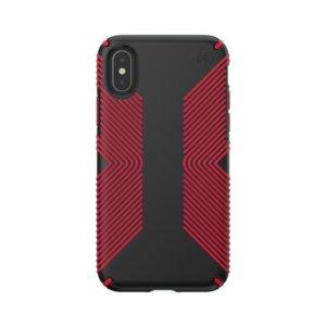 Калъф за смартфон Speck IPHONE X/XS GRIP RED 117124-C305