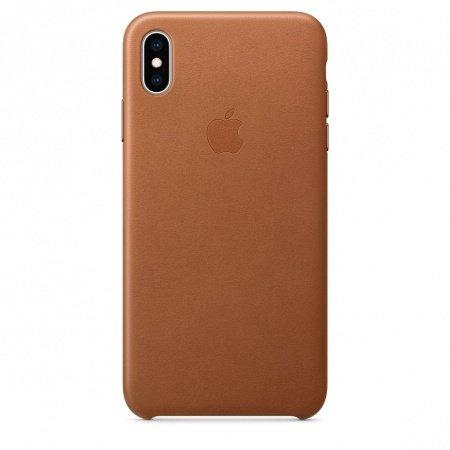 Калъф Apple IPHONE XS MAX LEATHER CASE BROWN MRWV2