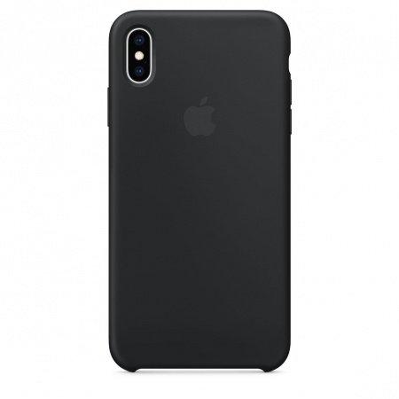 Калъф Apple IPHONE XS MAX SILICONE CASE - BLACK MRWE2