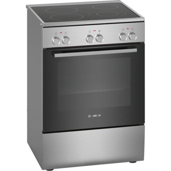 Готварска печка (ток) Bosch HKA090150 , INOX , Керамични