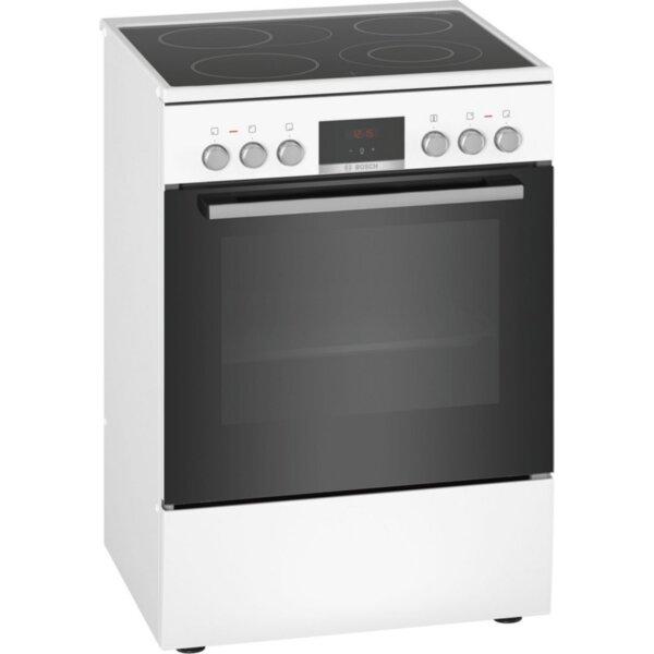 Готварска печка (ток) Bosch HKR39C220 , Бял , Керамични