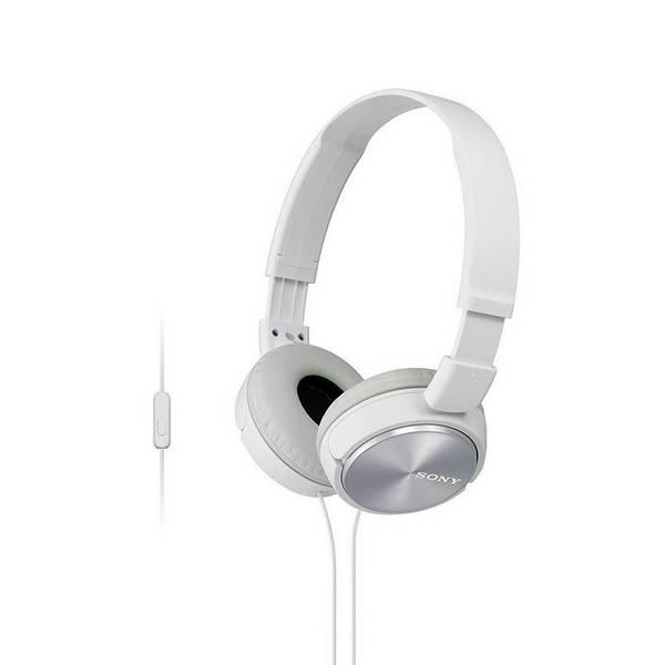 Слушалки с микрофон Sony MDR ZX310APW