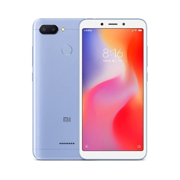 Мобилен телефон Xiaomi REDMI 6 DS BLUE 64/4 MZB6605EU